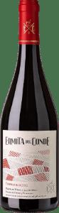 Botella de vino premiado Ermita del Conde Tempranillo 2017
