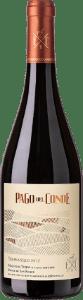 Botella de vino premiado Pago del Conde Tempranillo 2014
