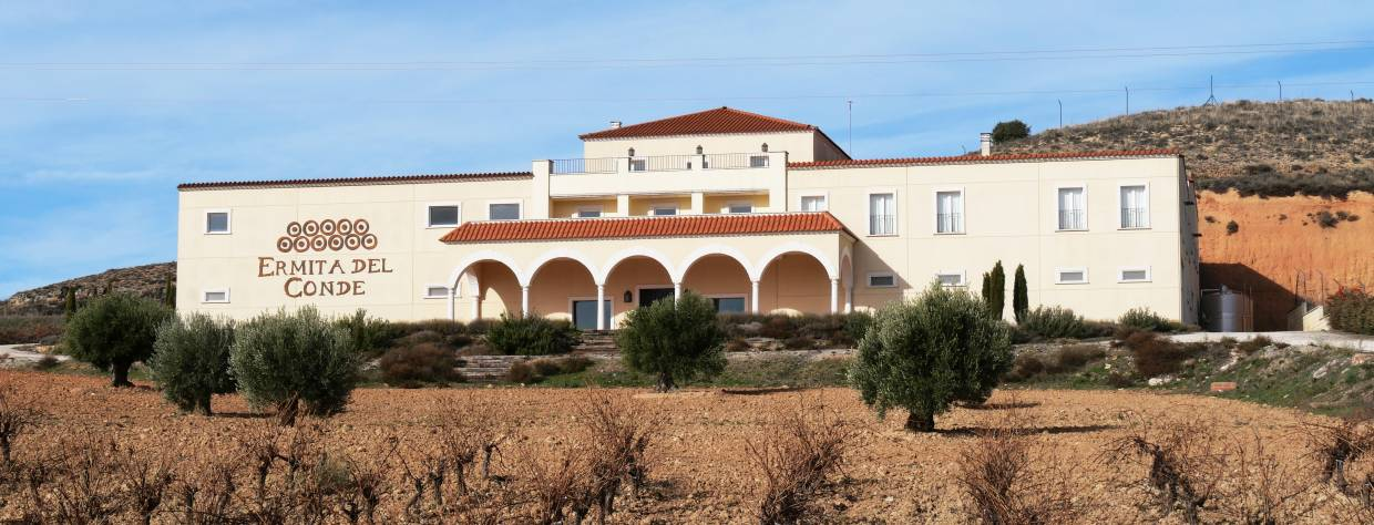 Ermita del Conde, winery external view